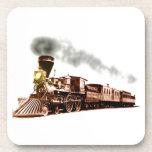Tren de cobre posavaso