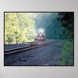 Tren de coche de la oficina de Conrail - OCS 8/22/ Poster