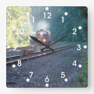 Tren de coche de la oficina de Conrail - reloj de