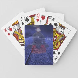 Tren de fantasma cartas de juego