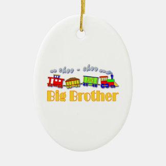 Tren de hermano mayor Choo Choo Adornos De Navidad