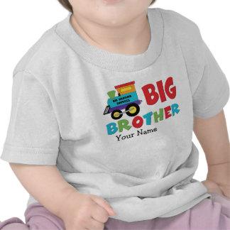 Tren de hermano mayor camiseta