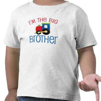 Tren de hermano mayor camisetas