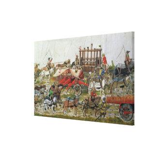 Tren de la artillería de Maximiliano I Impresión En Lienzo Estirada
