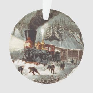 Tren de la nieve de la CAMISETA