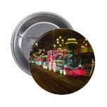 Tren de la tranvía - botón de las iluminaciones de pins