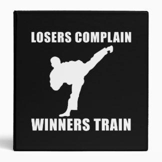 """Tren de los ganadores de los artes marciales carpeta 1 1/2"""""""