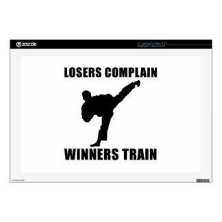 Tren de los ganadores de los artes marciales portátil calcomanías
