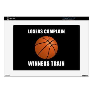 Tren de los ganadores del baloncesto skins para 38,1cm portátil