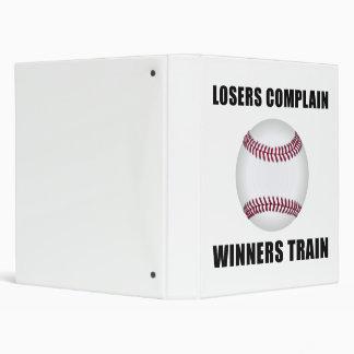 """Tren de los ganadores del béisbol carpeta 1"""""""