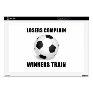Tren de los ganadores del fútbol 43,2cm portátil calcomanía
