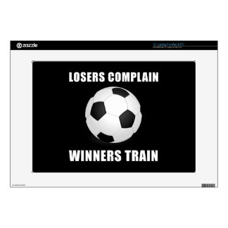 Tren de los ganadores del fútbol skins para 38,1cm portátil