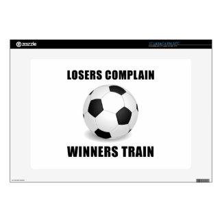 Tren de los ganadores del fútbol skins para 38,1cm portátiles
