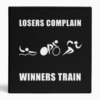 """Tren de los ganadores del Triathlon Carpeta 1 1/2"""""""