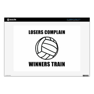 Tren de los ganadores del voleibol 33cm portátil calcomanías