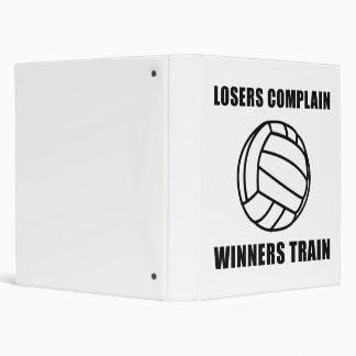 """Tren de los ganadores del voleibol carpeta 1"""""""