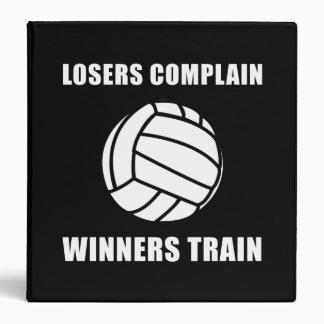 """Tren de los ganadores del voleibol carpeta 1 1/2"""""""