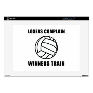 Tren de los ganadores del voleibol portátil 38,1cm skins