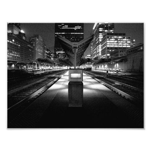 Tren de medianoche impresiones fotográficas