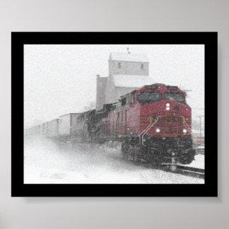 Tren de ningún donde póster