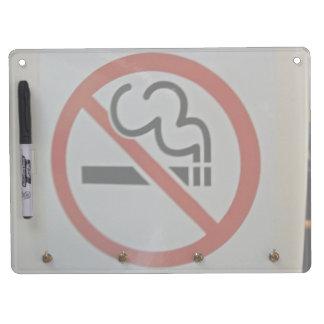 Tren de no fumadores del interior de la muestra pizarra