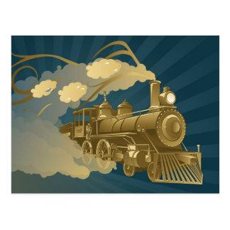 Tren de oro postal