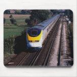 Tren de pasajeros de Eurostar Alfombrilla De Ratón