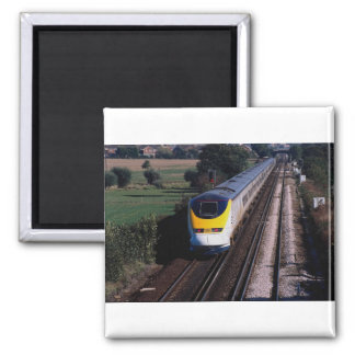 Tren de pasajeros de Eurostar Imanes