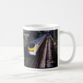 Tren de pasajeros de Eurostar Taza De Café