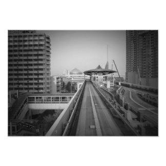 Tren de Tokio Arte Con Fotos