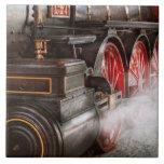 Tren - deje apagado un poco de vapor teja  ceramica