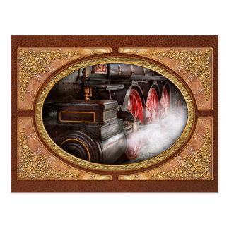 Tren - deje apagado un poco de vapor postales