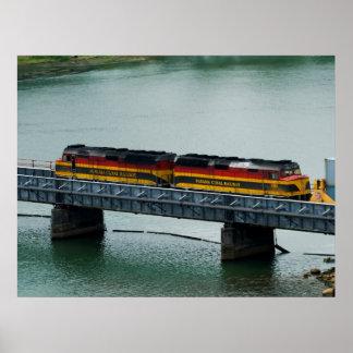 Tren del Canal de Panamá Poster