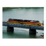 Tren del Canal de Panamá Postal