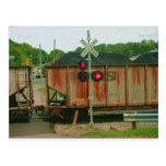 Tren del carbón de WV Tarjeta Postal