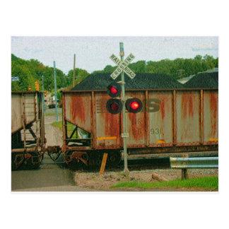 Tren del carbón de WV Postal
