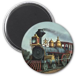 Tren del carbón imanes