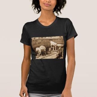 Tren del elefante de Ringling Bros de la T Shirts