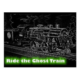 Tren del modelo de escala de O - monte el tren de Postal