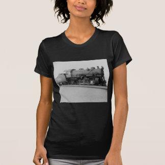 Tren del motor de vapor del vintage de Mikado 2-8- Camiseta