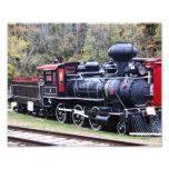Tren del motor del carbón fotografia