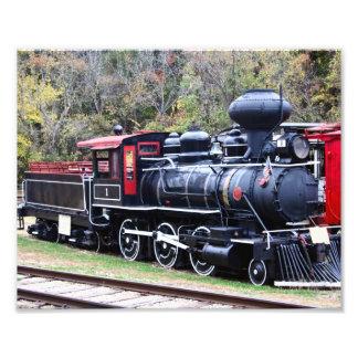 Tren del motor del carbón fotografías