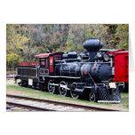 Tren del motor del carbón tarjeta pequeña