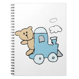 Tren del oso cuadernos