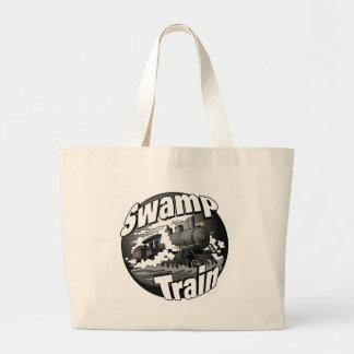 Tren del pantano bolsa de mano