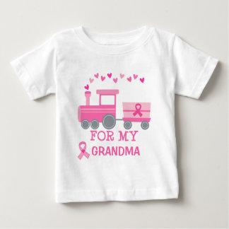 Tren del rosa del cáncer de pecho para mi camiseta
