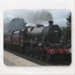 Tren del vapor de Fellsman Alfombrilla De Ratones