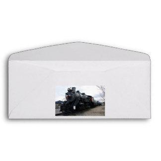 Tren del vapor del ferrocarril del vintage
