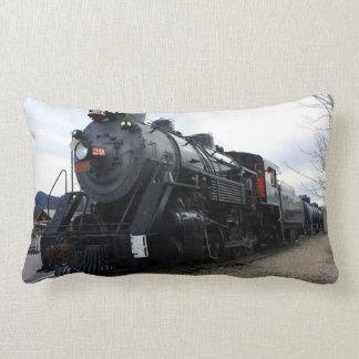 Tren del vapor del ferrocarril del vintage almohadas