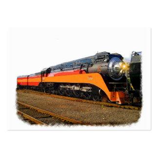 Tren del vapor del SP Tarjetas De Visita Grandes